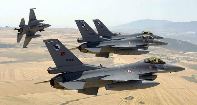 Turkey deploys F-16 jets to border with Syria