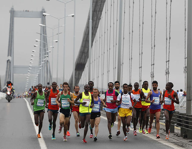 Istanbul Marathon spans two continents for the 36th time