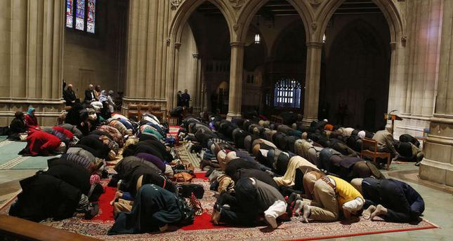 Washington National Cathedral hosted Muslim Friday prayer for first time