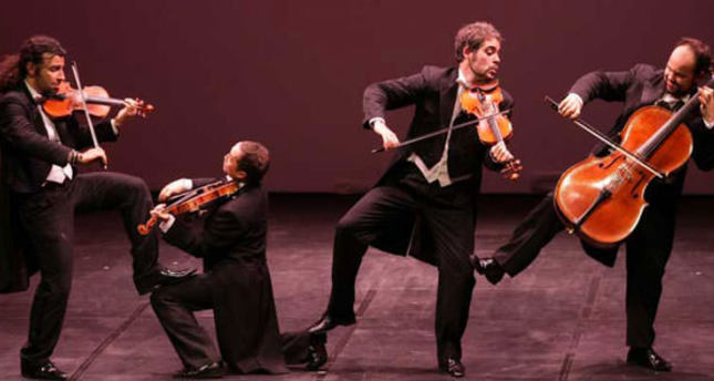 Violin virtuoso group Pagagnini to perform in Istanbul