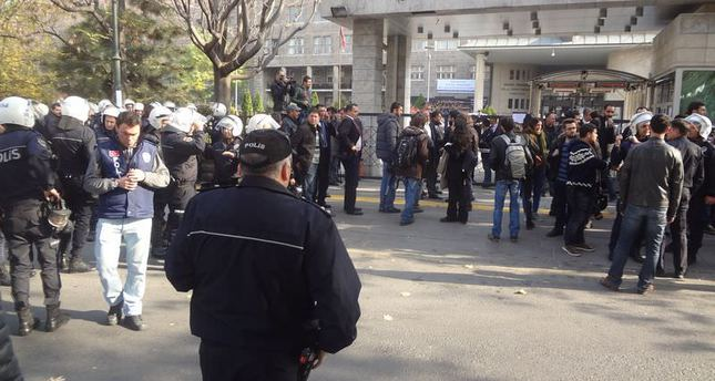 Faculty shut down after riot at Ankara University