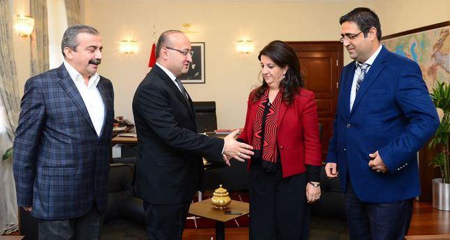 Pro-Kurdish deputies meet with deputy PM, vow to continue reconciliation process