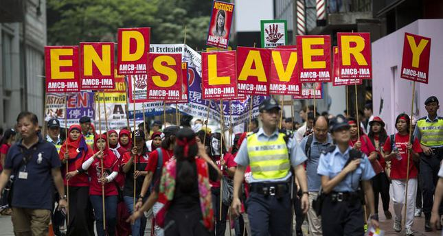 Nearly 36 mln people are 'modern slaves': Global Index
