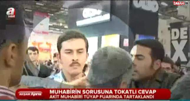 Gülenist editor-in-chief terrorizes journalist