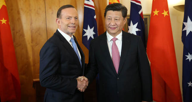China and Australia sign preliminary free-trade deal