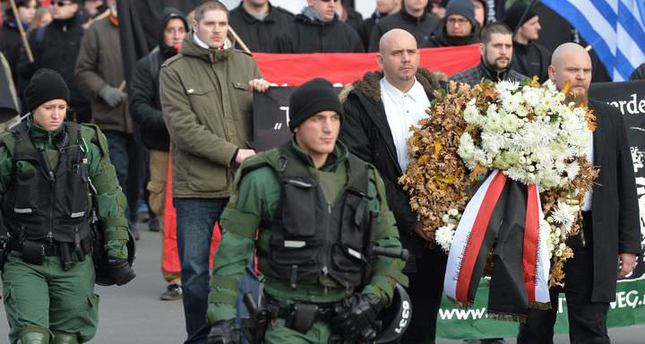 Neo-Nazis marching through German town unwittingly raise thousands of euros