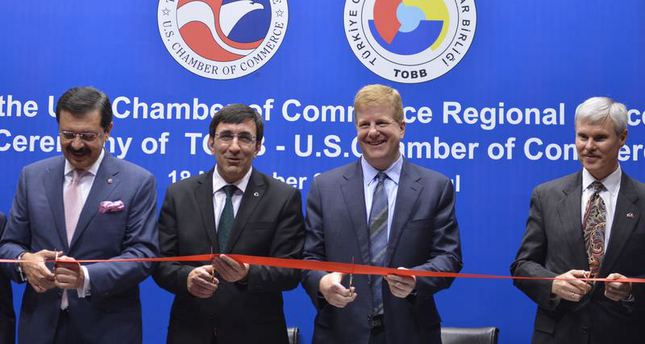 US opens Chamber of Commerce office in Istanbul