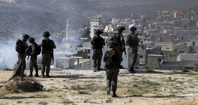 Jewish settlers attack Palestinians in the occupied West Bank