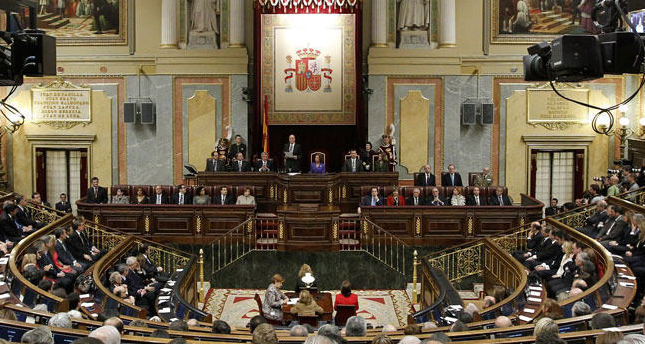 Spanish Parliament passes symbolic motion on eventual recognition of Palestine
