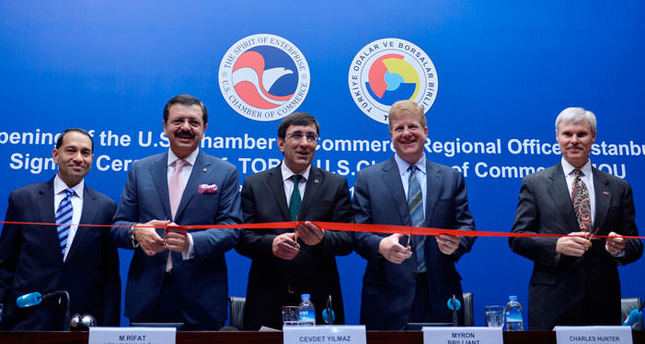 US Chamber of Commerce opens regional office in Istanbul