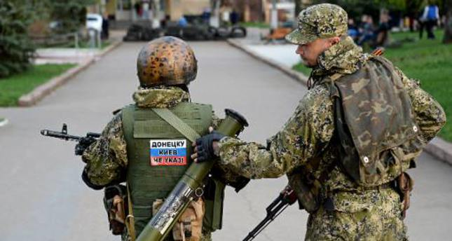 Russia vows to pursue its stance supporting  pro-Russian rebels