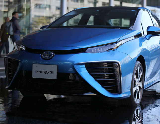 Toyota's Mirai to hit the roads as first mass market fuel-cell car