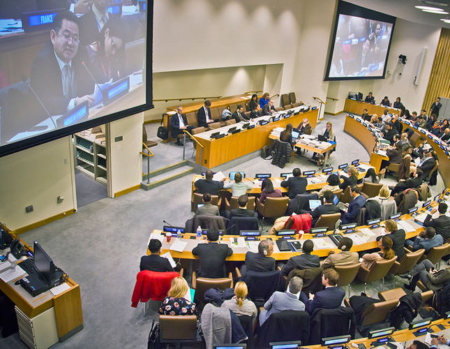 UN pushes against North Korean human rights record
