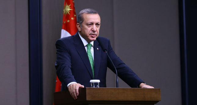 Erdoğan says Gülenists behind his wiretapping