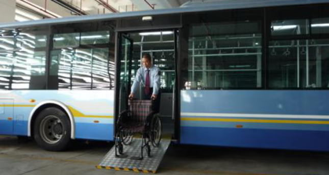 Public buses set to be modified for the disabled