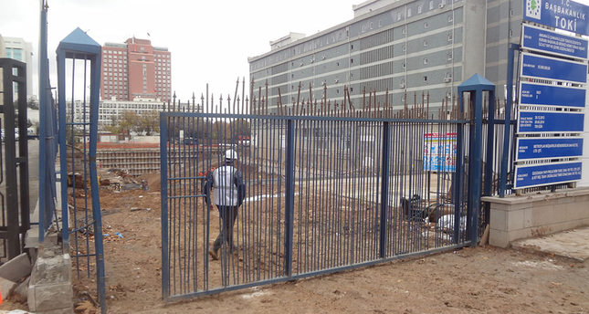 Worker dies at Turkstat's construction site