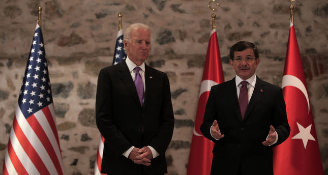 Readout of the Vice President's Meeting with Turkish Prime Minister Ahmet Davutoglu