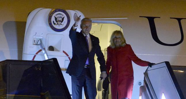 Ankara questions US's reluctance on Syria as Biden visits Turkey