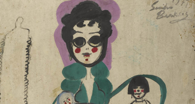 'Wall of Hallucination,' first exhibition of Turkey's first female opera singer