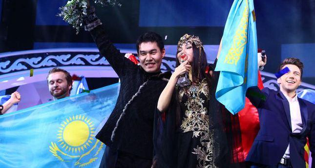 Kazakhstan wins Türkvizyon Song Contest 2014