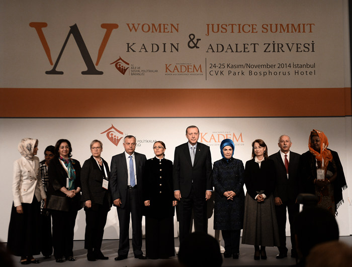 Erdoğan: Justice a solution to women's problems