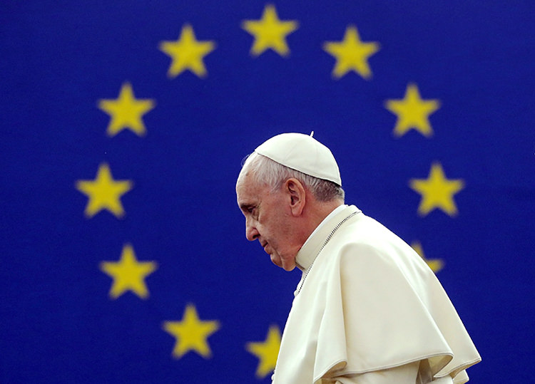 Pope Francis: 'Europe now a grandmother, no longer fertile and vibrant'