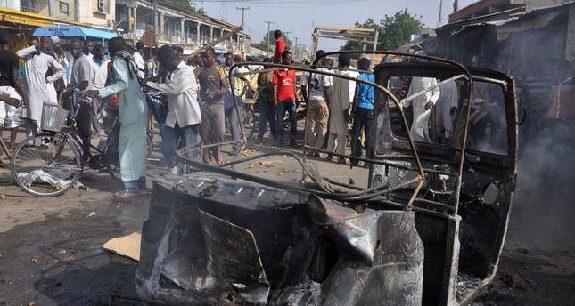 45 killed in twin suicide bomb attacks in Nigeria