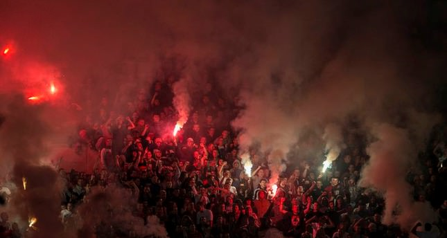 Five people arrested over death of Serbian Red Star fan