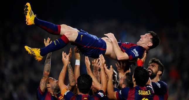 Lionel Messi breaks Champions League scoring record