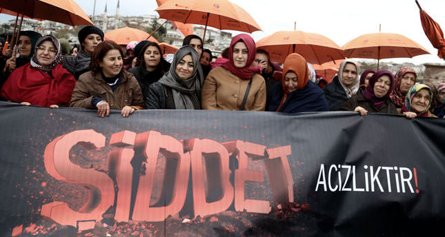Activists take to streets to protest violence against women