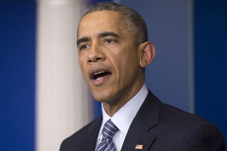 Obama: 'No sympathy' for Ferguson rioters