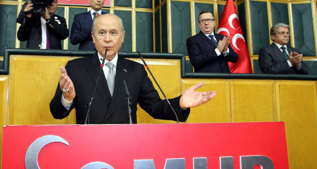 MHP Leader accepts challenge by Davutoğlu, says will go to Tunceli