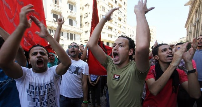 Egypt court sentences 78 teens to prison over protests