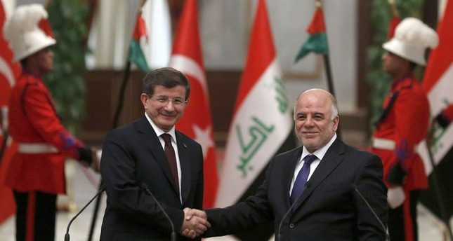 PM Davutoğlu speaks with KRG leader Barzani and Iraqi PM Abadi over Kirkuk