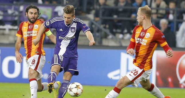 Anderlecht beats Galatasaray 2-0 in Group D of UEFA Champions League