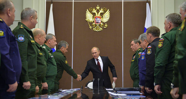 Russian expansionism resembles Cold War geography