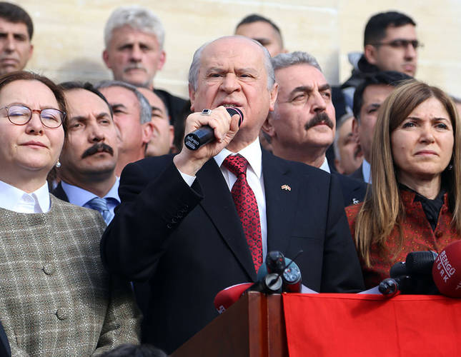 Locals protest nationalist leader in visit to Tunceli