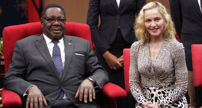 Madonna as the new 'Goodwill Ambassador for Child Welfare' for Malawi