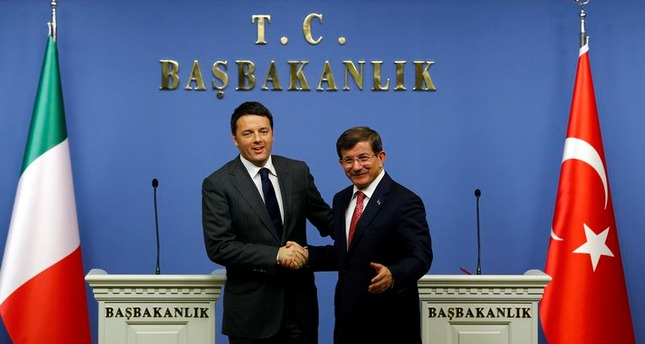 EU membership a strategic target for Turkey: PM Davutoğlu