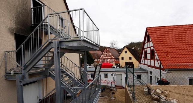 German police fear neo-Nazis razed refugee homes