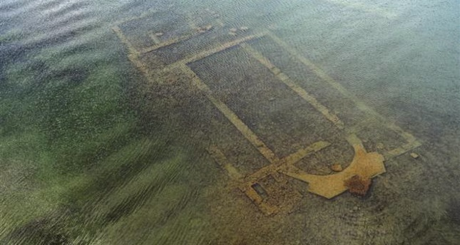 Basilica buried under water among the top 10 archeological discoveries of 2014