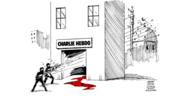 Cartoon world has double standard on freedom of speech issue