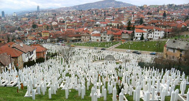 Bosnia And Herzegovina Sarajevo Roses Recall The Horrors