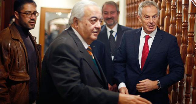 Quartet's Blair in Gaza Strip for a brief visit