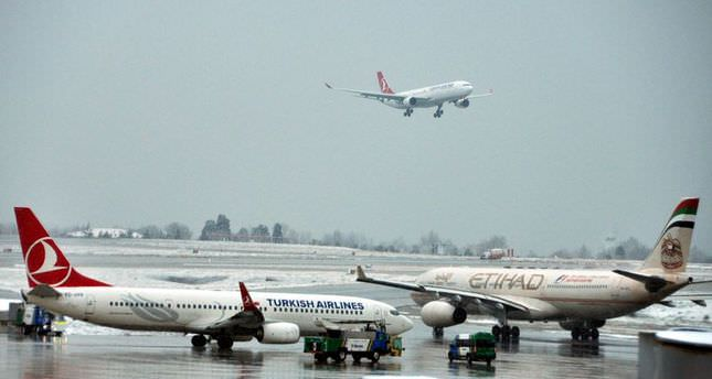Turkish Airlines cancels 208 flights due to bad weather