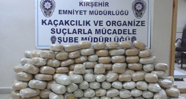 Police officer caught with five million TL worth of drugs