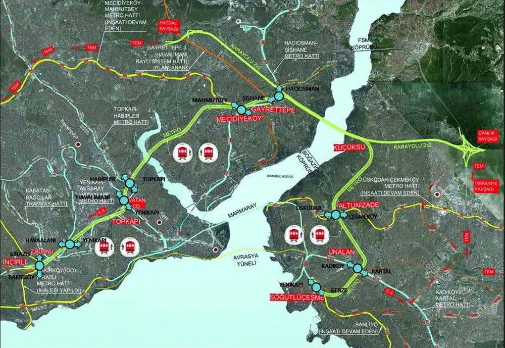mega tünel istanbul ile ilgili görsel sonucu