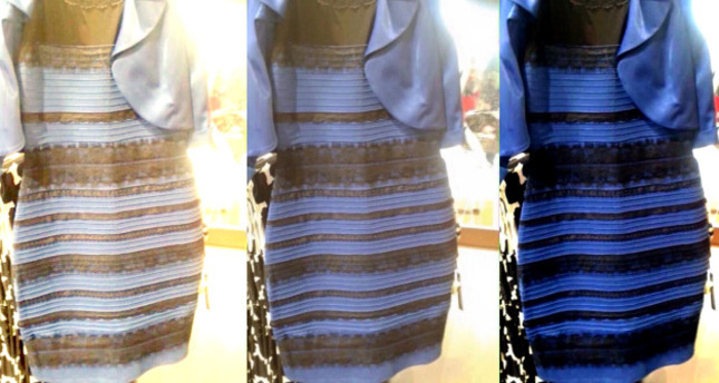 What Color Is The Dress Black And Blue Or White And Gold Daily Sabah