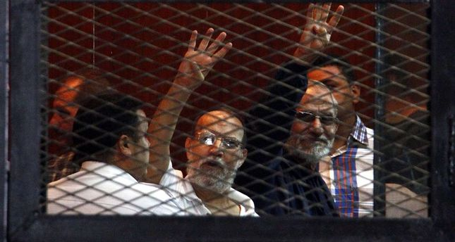 Egypt courts give Muslim Brotherhood leader life in prison, lists Hamas as terrorist