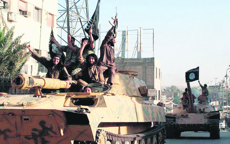 ISIS militants have taken control over large areas of Iraq and Syria.